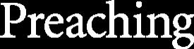 Preaching Magazine Logo