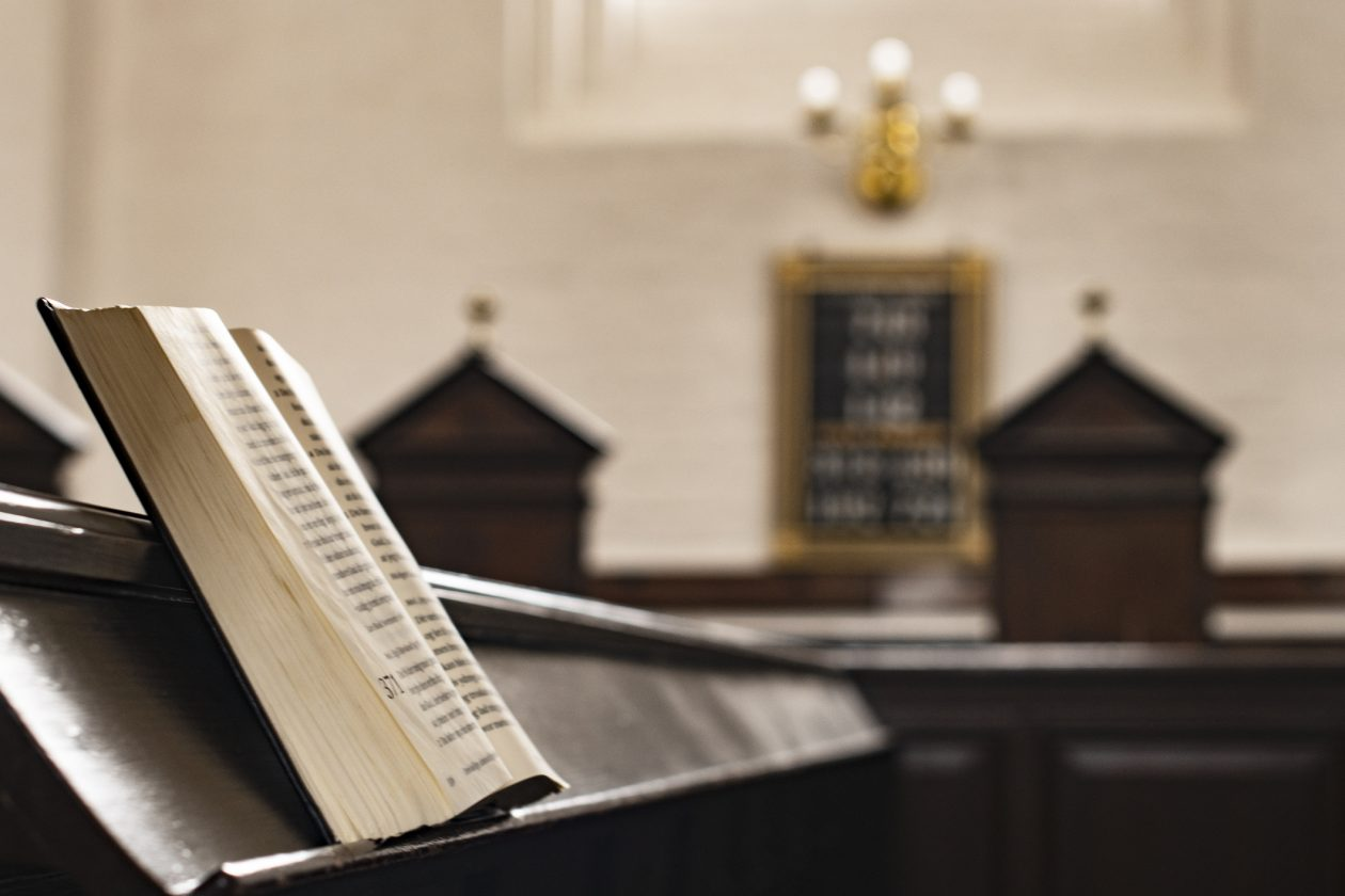 Bible in Pulpit