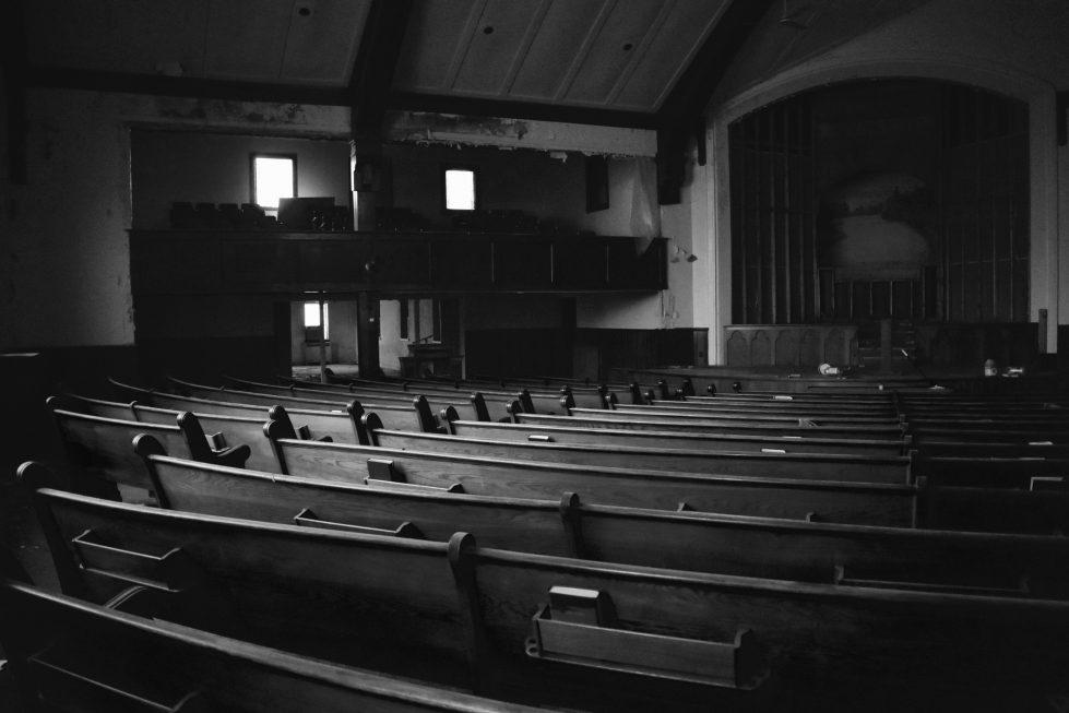 Empty Pews at Church